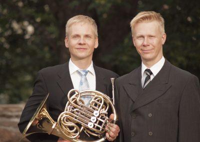 Petri Komulainen and Jan Lehtola. Photo: Mika Koivusalo